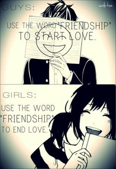 Girls: Friendzone, friendzone everywhere :D This maybe not a serious quote, but it still funny....I guess...