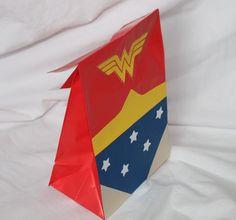 Superhero party Favor Bag for the girls