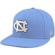 first rate 67126 a9cea NCAA New Era North Carolina Tar Heels (UNC) Carolina Blue On-Field 59FIFTY  Fitted Hat New Era.  31.95