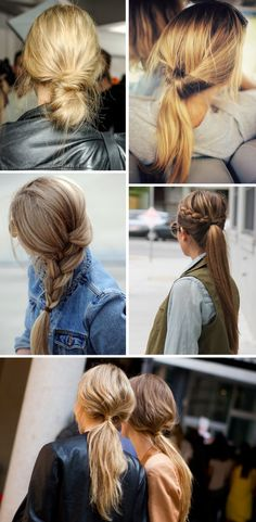 Easy everyday hairstyles - Passions for Fashion
