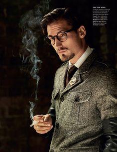 Sam Webb by Cameron McNee for Fashionisto