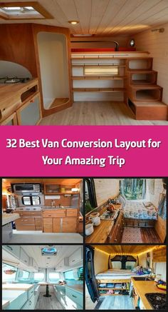 You might go for a van that youve to tow or the other choice is to get a camper van thats both car and caravan. Vans are cheaper than campers or conversion v Van Conversion Layout, Lateral Thinking, Cool Vans, Camper Interior, Campervan, Caravan, Bunk Beds, Conversation, Construction