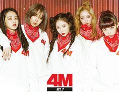 [Album & MV Review] 4minute - 'Act.7' | http://www.allkpop.com/review/2016/02/album-mv-review-4minute-act7