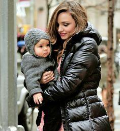 Miranda & baby Flynn