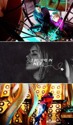"The Doctor + Rose Tyler: ""I've seen fake gods and bad gods and demigods and would-be gods. And out of all that, out of that whole pantheon, if I believe in one thing, just one thing…"" #doctorwho"