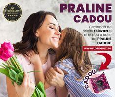 Intră acum pe www.floridelux.ro, comandă de minim 159 RON și primești o cutie cu praline cadou, marca PURE! 🎁 Un cadou delicios, o surpriză minunată, care se potrivește perfect cu florile noastre deosebite! Livrare oriunde în România! #floridelux #florist #flowershop #onlineflowers Hair, Beauty, Whoville Hair, Cosmetology