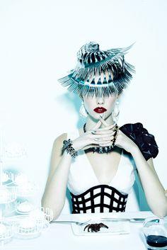 | Sullivan, Wilhelmina, avant garde, future fashion, futuristic clothing ...