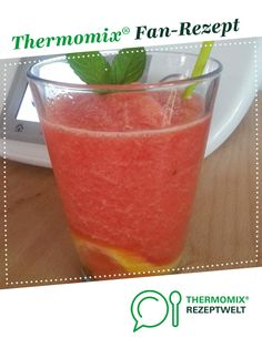 Wassermelonen-Slush Watermelon Slush by Anja @ Mixi. A Thermomix ® recipe from the Drinks category www.de, the Thermomix® Community. Smoothie Drinks, Smoothie Bowl, Fruit Smoothies, Smoothie Recipes, Nutella Recipes, Fruit Recipes, Cottage Cheese Breakfast, Homemade Carrot Cake, Quirky Cooking