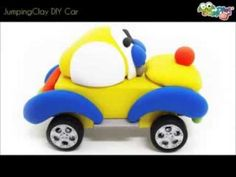 Jumping Clay Tutorial - How to make a Clay Car - All DIY sets available @ shop.jumpingclay.co.uk Happy Modelling