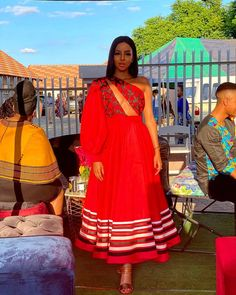 African Inspired Fashion, Latest African Fashion Dresses, African Print Dresses, African Print Fashion, South African Traditional Dresses, Traditional Outfits, Couples African Outfits, African Wedding Attire, Wedding Night