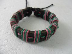 fashion multicolor Adjustable  real leather and by feihong2012, $3.00