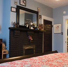 Brick Fireplaces, Home Decor, Homemade Home Decor, Decoration Home, Brick Fireplace, Interior Decorating