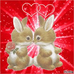 Discover & share this Rabbit GIF with everyone you know. GIPHY is how you search, share, discover, and create GIFs. Easter Pictures, Happy Pictures, Gif Pictures, Valentines Day Gif Images, Happy Valentine Day Quotes, Love You Gif, Cute Love Gif, Easter Cats, Happy Easter