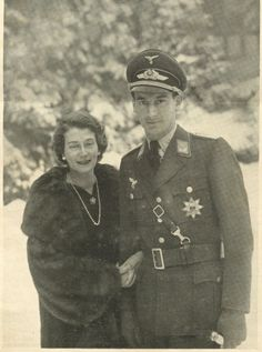 Kira Kirillovna and Louis Ferdinand of Prussia on their engagement