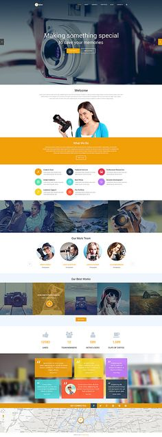 Art & Photography Most Popular website inspirations at your coffee break? Browse for more WordPress #templates! // Regular price: $79 // Sources available: .PSD, .PHP, This theme is widgetized #Art & Photography #Most Popular #WordPress