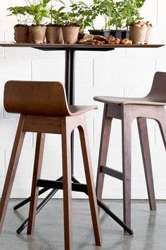 sculptural bar stools