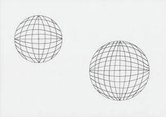 Op art kruhy a paprsky
