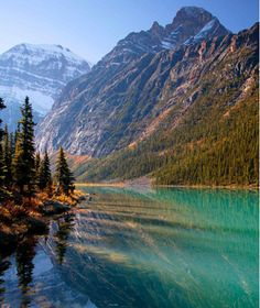 The Rocky Mountains by Train -chug along past the glaciers, lakes, and limestone mountains of the Canadian Rockies. At night, you'll unpack in spots like Vancouver, Kamloops, and Jasper National Park