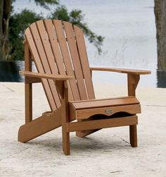 Adirondack Chair, loves these type of chairs, comfortable and stylish