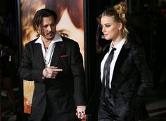 Pin for Later: Johnny Depp and Amber Heard Are the Epitome of Love on the Red Carpet