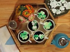 DIY Shamrock Marshmallows >> http://blog.diynetwork.com/maderemade/2014/03/07/7-lucky-things-you-should-turn-green-for-st-patricks-day/?soc=pinterest