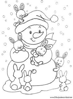 Free Printable Winter Coloring Pages - Free Printable Winter Coloring Pages, Winter Time Printable Coloring Pages Free Printable Winter Snowman Coloring Pages, Coloring Pages Winter, Coloring Sheets For Kids, Christmas Coloring Pages, Coloring Book Pages, Printable Coloring Pages, Kids Coloring, Adult Coloring, Christmas Colors