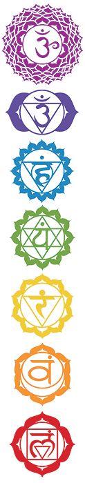 Chaque chakra est typiquement associé avec une ou plusieurs pierres, appelées pierres chakras ou cristaux chakras. Chaque pierre a pour objet de magnifier ou équilibrer le centre énergétique sur lequel on travaille.