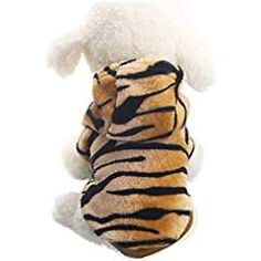 Inkach Small Dog Cat Pet Puppy Flannel Warm Clothes Tiger Grooming Costume (S). ** To view further for this item, visit the image link. (This is an affiliate link) #Apparel