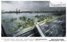 "Renderings revealed for East River ""flood park."""