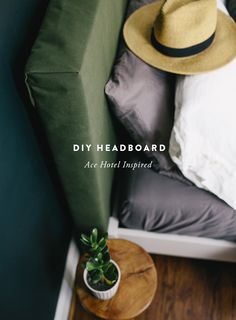 DIY Headboard inspired by the Ace Hotel