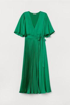 Italian Size Vestito Corto con Fiocco Fantasia Foliage Oltre
