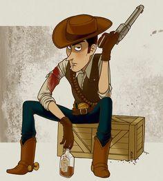 Woody behind scenes???