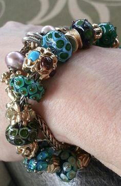 My St. Patrick's day trollbead bracelet