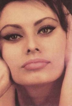 Sophia Loren. People seem to forget that she had the original full, sexy lip long before Angelina Jolie