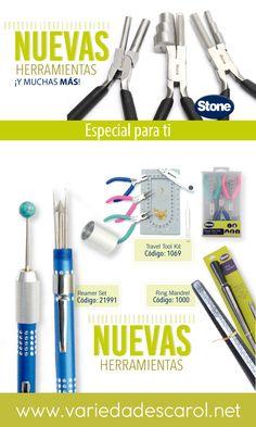 7d803c79dd83 Somos la tienda OFICIAL de herramientas STONE. Encuentra los mejores  insumos para bisutería en www.variedadescarol.net