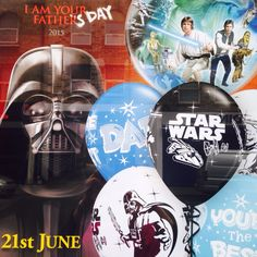 Surprise The Best Dad in the galaxy with unique balloon gift.