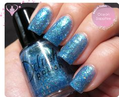 Delush Polish Ocean Sapphire. Swatches and review on http://www.alacqueredaffair.com/Delush-Polish-Ocean-Sapphire-Cirque-Fantastique-32331361