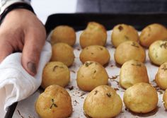 Thyme Gougeres | 101 Bite-Size Party Foods