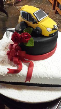 Car birthday cake....first car...