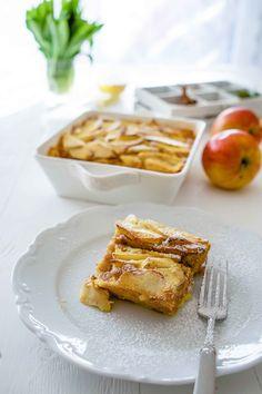 stuttgartcooking: Süßer Apfel-Wibele-Auflauf