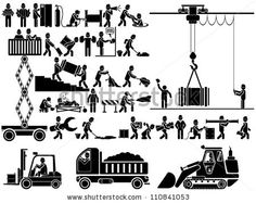 Find Man People Working Construction Carrying Building Industry Painting Sawing Hard Labor Pictogram Icon Symbol Sign Stock Images in HD and millions of other royalty-free stock photos, illustrations, and vectors in the Shutterstock collection. Doodle Art Drawing, Art Drawings, Sharpie Drawings, Construction Logo, Icon Collection, En Stock, Stick Figures, Extreme Sports, Icon Set