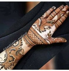 Best Arabic Mehndi Designs For Hands - Art & Craft Ideas