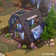 Pc Minecraft, Minecraft Projects, Minecraft Designs, Sims 4 House Plans, Sims 4 House Building, Sims Free Play, Play Sims, Sims 4 Challenges, Muebles Sims 4 Cc