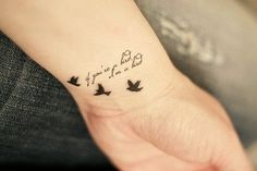 This is so cute... @Lanie Copen if I ever got a tattoo for you... this is what it would be!