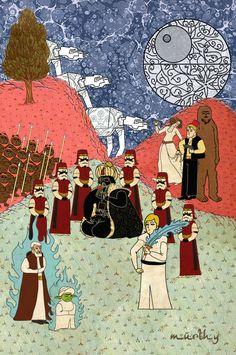 star wars, ottoman style !
