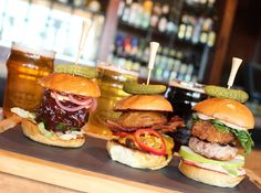 Specialty sliders$3 each during happy hour3:30-6pm dailyRelish Burger BistroThe Phoenician Resort, Scottsdale