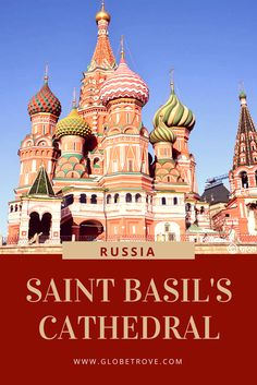 Saint Basil's cathedral is a popular tourist attraction known worldwide but did you know that it isn't just one church but 10?