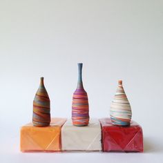 """Size does matter, writes Tacoma, Washington artist Jon Almeda on his pottery website. Tiny hand thrown ceramics at 1"""" (2.54cm) scale are now Almeda's specialty, despite starting his career with much bigger pieces."""