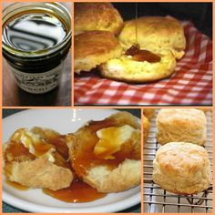 THIS PEOPLE: sweet sorghum and hot homemade southern biscuits - Grandma Mamie would make the biscuits and Grandpa Ike would put butter & molasses (or sorghum) on them.