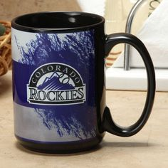 Colorado Rockies 15oz. Sublimated Mom Mug